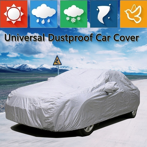 Full Car Cover Waterproof UV Sun Snow Dust Rain Resistant  Protection Outdoor