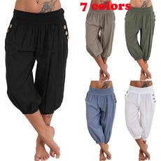 Women Pants, haremtrouser, Plus Size, Casual pants