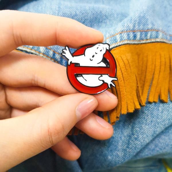 ghost, hatpin, Fashion, moviesbrooch