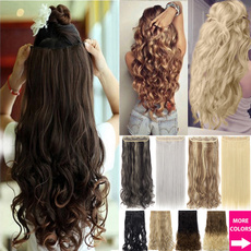 hair, Head, Hairpieces, clip in hair extensions