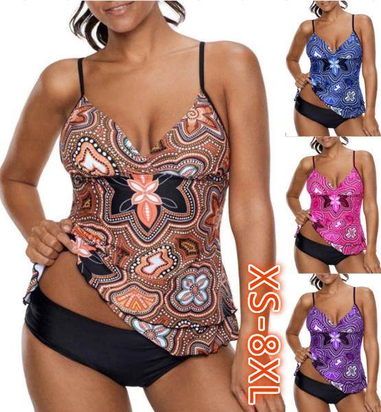 Plus Size, bikini set, Tankinis, Tankini Set