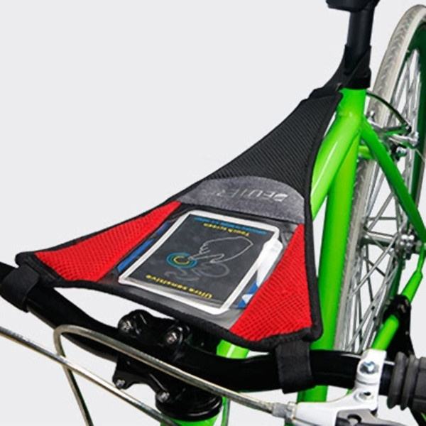 Riding Cycling Strong Durable Sweat Tape Net Bicycle Trainer Bike Sweatbands EL