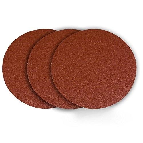 12 60 Grit PSA Aluminum Oxide Disc 3 Pack