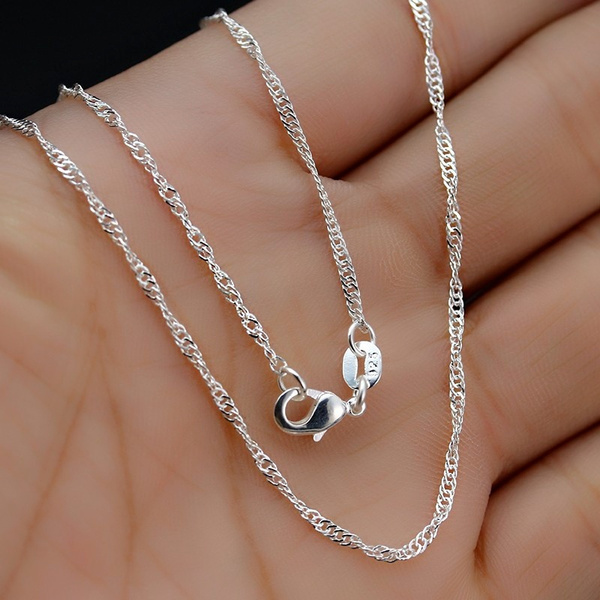 Sterling, Chain Necklace, sterling silver, Jewelry