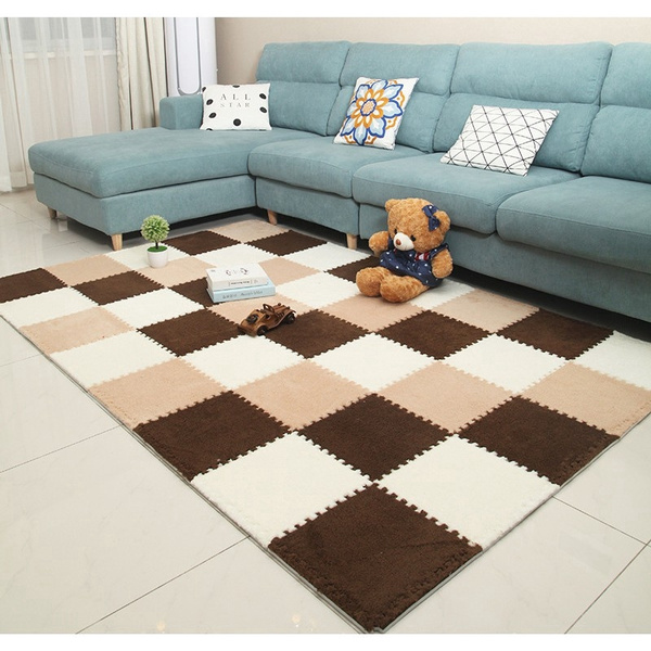 Plush Soft Baby Play Mat Rugs Carpets