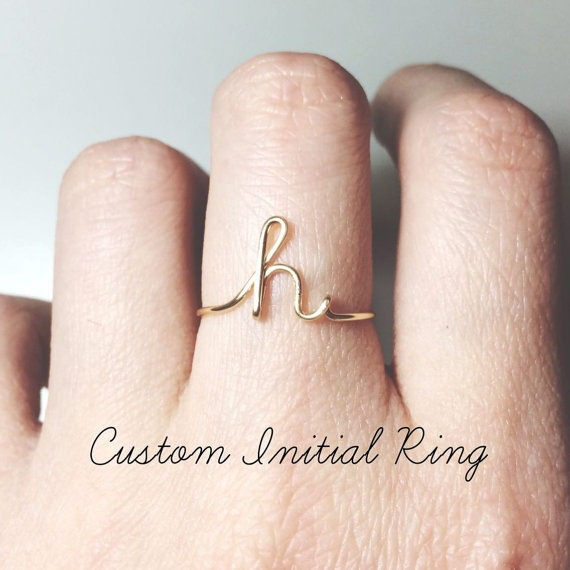 Fashion, letterring, wedding ring, fashion ring