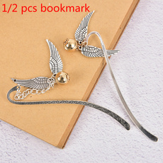 School, Gifts, gold, Bookmarks