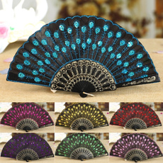 Summer, peacock, Office Products, flowerfan