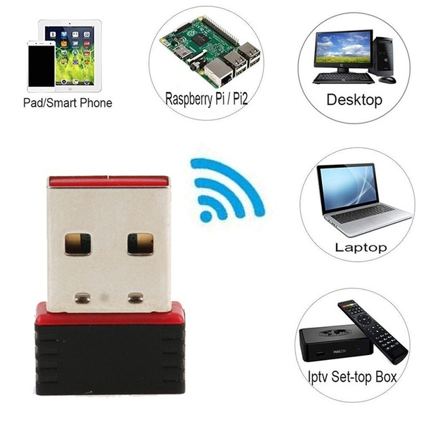 2019 New 802 11n/g/b 150Mbps USB Wireless Adapter Wifi 802 11n/b/g LAN  Raspberry Pi WIFI for Laptop PC