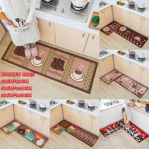 Anti-slip Microfiber Multi-purpose 1Pcs Kitchen Rugs Doormats Bebroom  Livingroom Carpets
