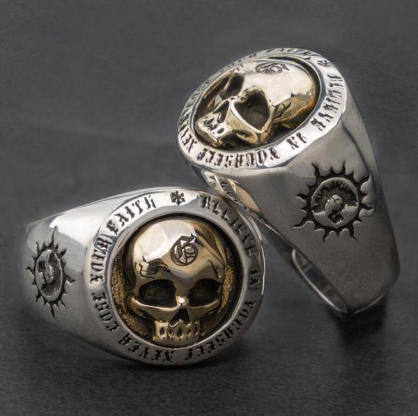 Steel, bikerring, Fashion, Jewelry