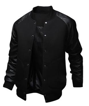 Casual Jackets, Fashion, PU Leather, leather