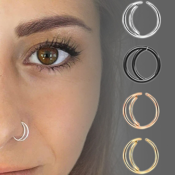 Jewelry, Stainless Steel, piercing, Moon