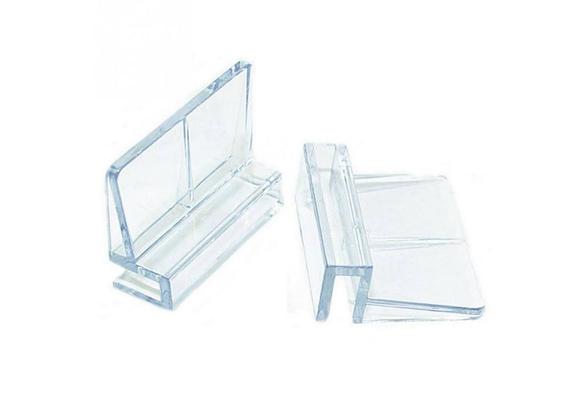 6//8//10//12mm Aquarium Tank Fish Acrylic Clips Cover Glass Support Holders 1//4Pcs