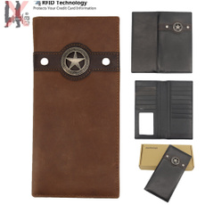leather wallet, Star, Cowboy, leather