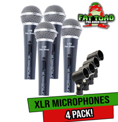 Dj, Microphone, microphonecable, packages