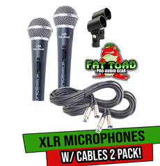 Dj, microphonecable, packages, cardioidmicrophonepackage