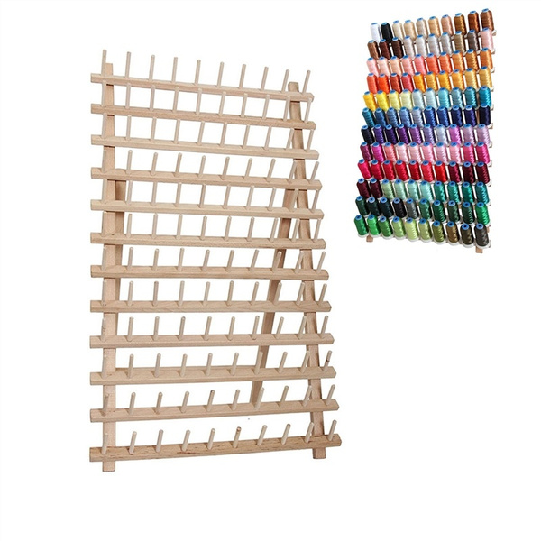 60 Spool Cone Thread Stand//Rack Organizer for Sewing and Embroidery Machine