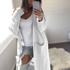 knitted, Fashion, Winter, Sleeve
