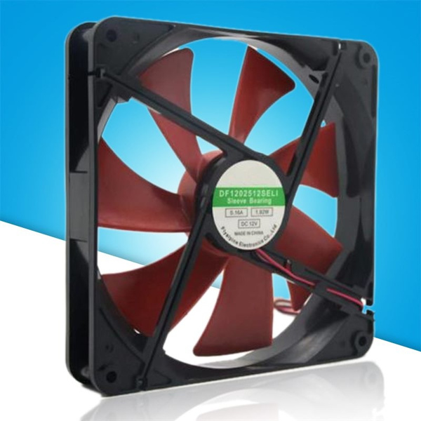 140mm pc case cooling fans 14cm DC 12V 4D plug computer cooler For PC