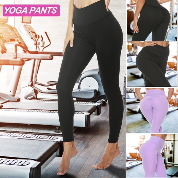 8355485d6f84b Fashion Women Yoga Pants Fitness Gym Elastic Fitness Sport Leggings ...