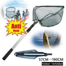 landingnet, Aluminum, fishingaccessorie, Fishing Tackle