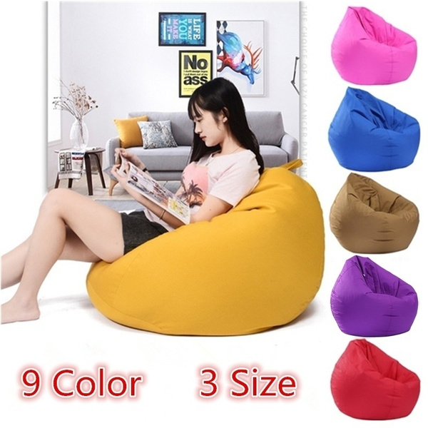 Stupendous 9 Color 3Size New Large Bean Bag Cover Gamer Beanbag Adult Outdoor Gaming Garden Big Arm Chair Only Sofa Cover Uwap Interior Chair Design Uwaporg