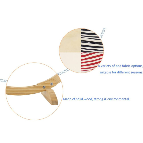 Wood, suspensioncradle, hammock, Pet Bed