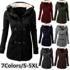 woolen coat, Plus Size, Outerwear, Classics