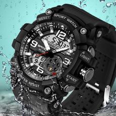 Fashion, led, Clock, Watch