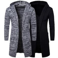 hooded, sweater coat, Trend, Coat