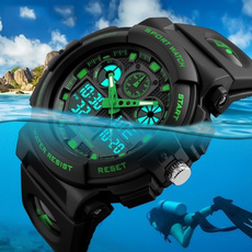 quartz, led, Waterproof, Bracelet Watch
