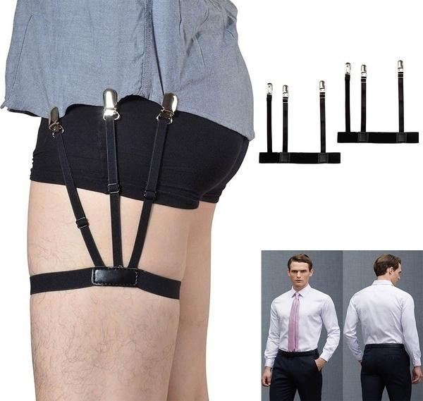 non-slip, garterbeltsuspender, Fashion, shirtgarter