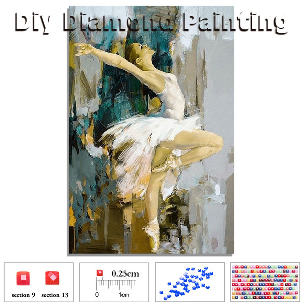 5D DIY Diamond Painting Girl Cross Stitch Embroidery Mosaic Kit Home Decor Craft