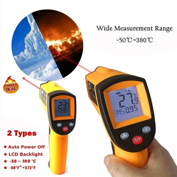 testmetersampdetector, thermometergun, Home & Living, handheldthermometer