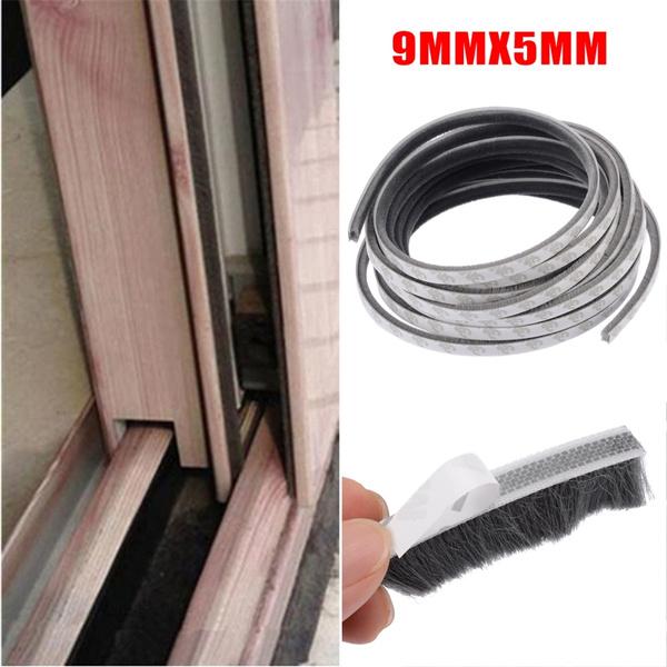 Self Adhesive Draught Excluder Window Pile Seal Film Door Weather Strip