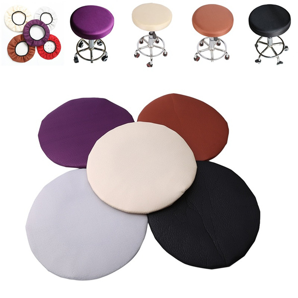 Enjoyable Elastic Bar Stool Covers Round Chair Seat Cover Cushion Slip Covers Lamtechconsult Wood Chair Design Ideas Lamtechconsultcom