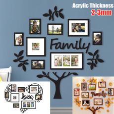 Photo Frame, airdisplay, Family, walldecoration