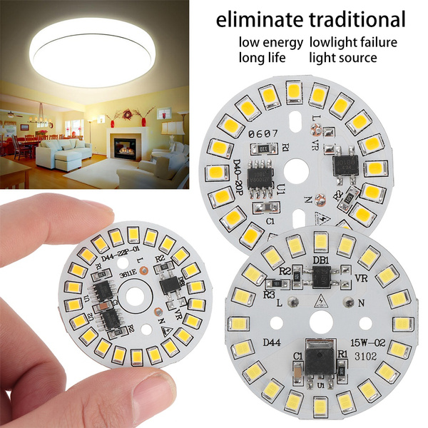 Smart IC Driver Warm White//White 2835 SMD LED Chip  Bulb Lamp Bean Light Plate
