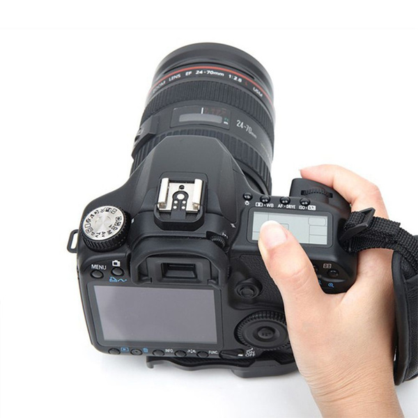 handgrip, leather strap, leather, Camera