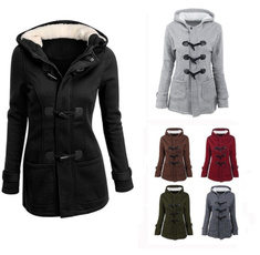 casual coat, hooded sweater, largesizecoat, womens top