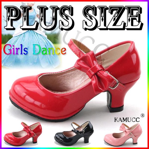 Fashion Girls Princess Shoes For Little Girls Dance Sandals High Heel Big Girls