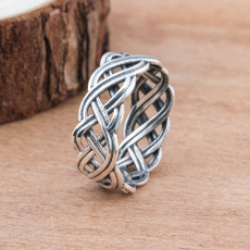 Sterling, Engagement, 925 sterling silver, wedding ring