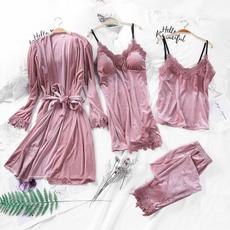 velvetnightgown, camisolepajama, velvet, womenrobe