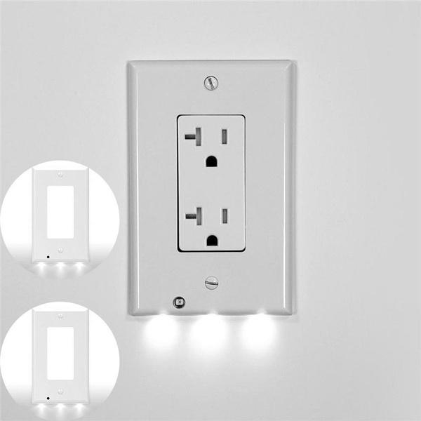 Plug, hallway, Bathroom, led