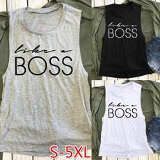 Summer, Plus Size, Tank, #fashion #tshirt