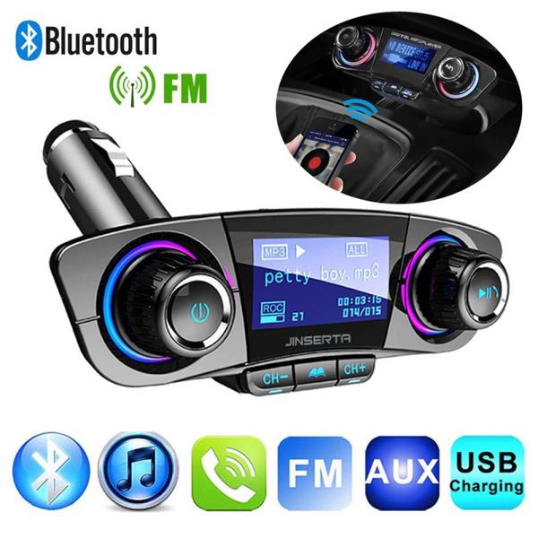 Wireless Bluetooth Handsfree Car Kit FM Transmitter MP3 Player Dual USB ChargerZ