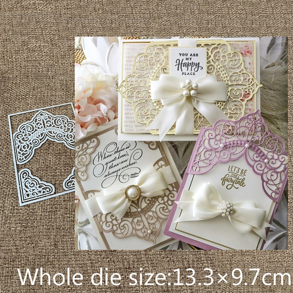 Greeting Cards & Party Supply, Scrapbooking, Lace, Metal