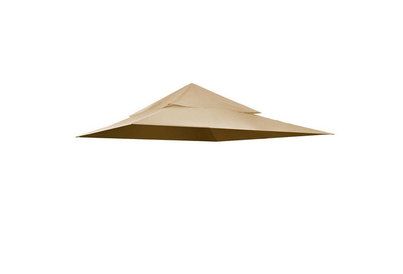 2 Tier 12/'x12/' Outdoor Canopy Top Cover Replacement for Harbor Gazebo GFS01250A