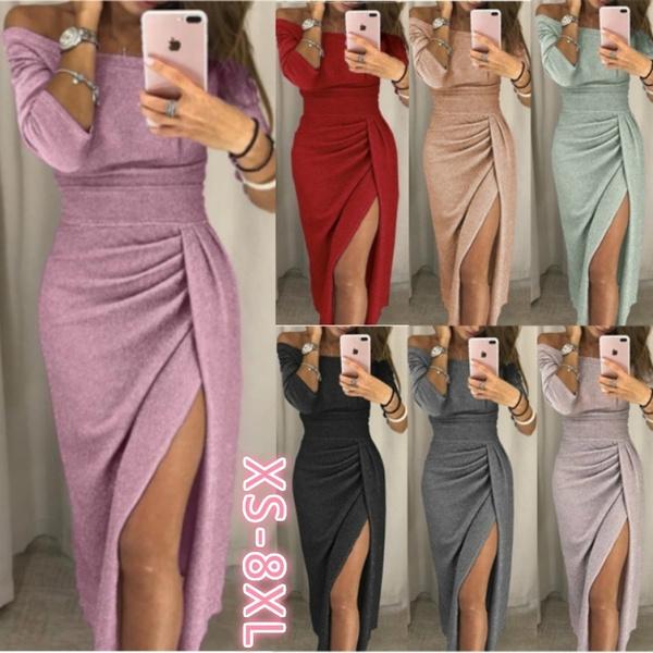 Plus Size, Sleeve, Dresses, Cocktail Party Dress